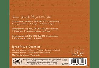 Ignaz Pleyel Quintett - Quintette Ben 271-273  - (CD)