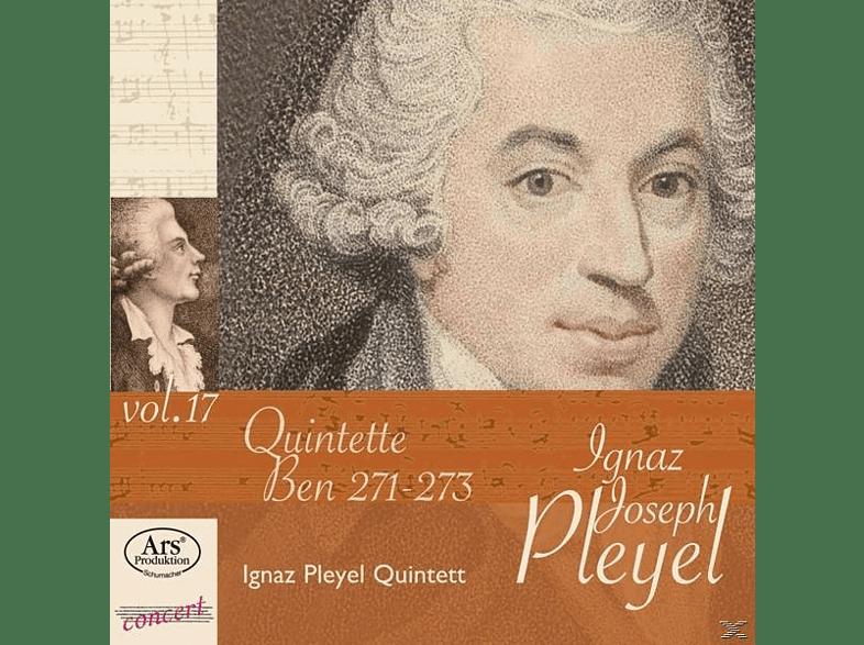Ignaz Pleyel Quintett - Quintette Ben 271-273 [CD]