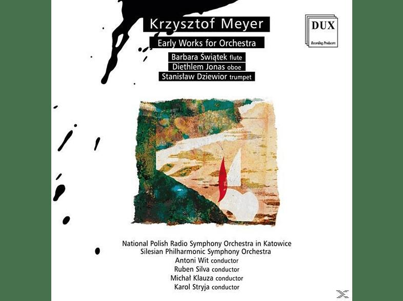 VARIOUS, Krzysztof Meyer - Frühe Orchesterwerke [CD]
