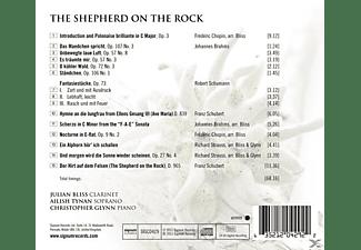Julian Bliss, Ailish Tynan, Christopher Glynn - The Shepherd On The Rock/+  - (CD)