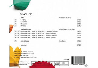 Peacock/Davidson/Setterfield/Trafalgar Sinfonia - Seasons  - (CD)