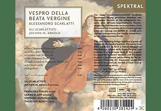 Gli Scarlattisti, Jochen M. Arnold - Vespro Della Beata Vergine  - (CD)