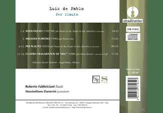 Fabbriciani,R./Damerini,M. - Per Flauto  - (CD)