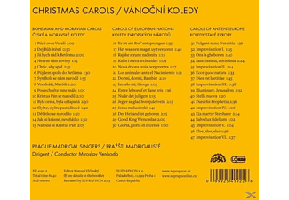 Prague Madrigal Singers - Christmas Carols  - (CD)