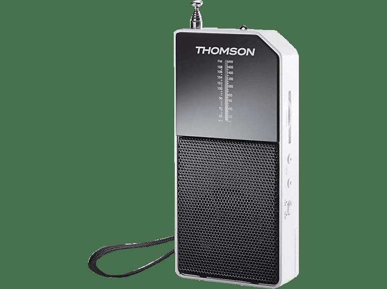 THOMSON RT205 Radio (MW, FM, UKW, Weiß)