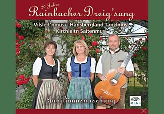 Rainbacher Dreigsang, VARIOUS, Vilseit'nmusi, Kirchleitn Saitenmusi - Jubiläumsmischung-20 Jahre  - (CD)