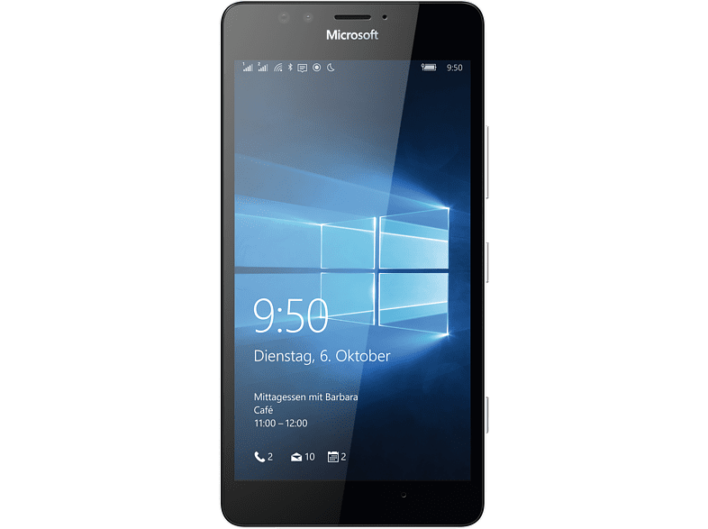 MICROSOFT Lumia 950 32 GB Weiß Dual SIM