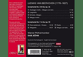 Wiener Philharmoniker - Symphonien Nr.2 & 7  - (CD)