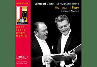 Hermann Prey, Gerald Moore - Schubert Lieder: Gesänge Des Harfners / Schwanengesang  - (CD)