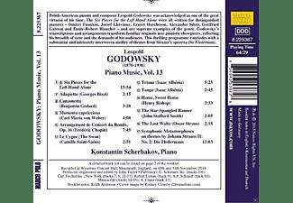 Konstantin Scherbakov - Godowsky: Six Pieces For The Left Hand  - (CD)