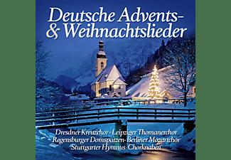 VARIOUS - Deutsche Advents-& Weihnachtslieder  - (CD)
