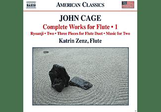 Katrin Zenz - Cage: Complete Works For Flute, Vol. 1  - (CD)