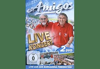 Die Amigos - Live Konzert-Teil 1 & 2-Aus  - (DVD)