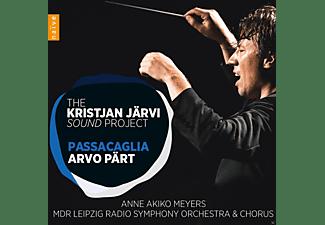 Anne Akiko Meyers, Kristjan Järvi, MDR Leipzig Radio Symphony Orchestra - Passacaglia  - (CD)