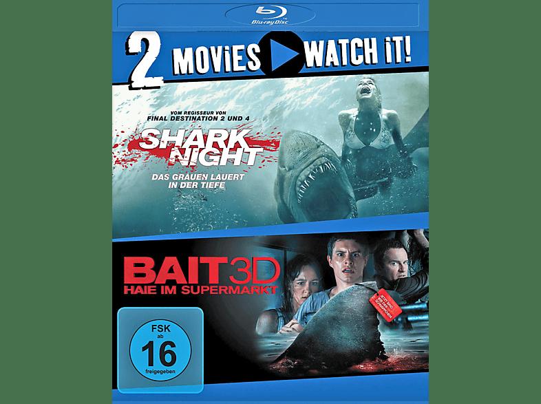 Shark Night / Bait - Haie im Supermarkt [Blu-ray]