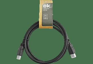 Cable HDMI - OK OZB-1000, 1.3 m, Negro