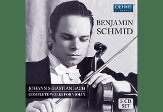 Benjamin Schmid - Sämtliche Werke Für Violine  - (CD)