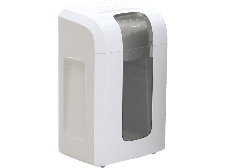 BONSAII 5S30 Super Mikro Partikelschnitt Aktenvernichter, Weiß