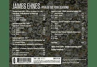 James Ehnes, Andrew Armstrong, Sydney Symphony - Die 4 Jahreszeiten / Teufelstrillersonate  - (CD)