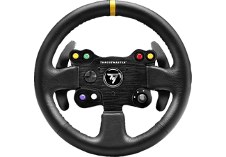 THRUSTMASTER PS4/XONE/PS3/PC LEATHER 28 GT WHEEL - GT Leder Lenkrad (Schwarz)