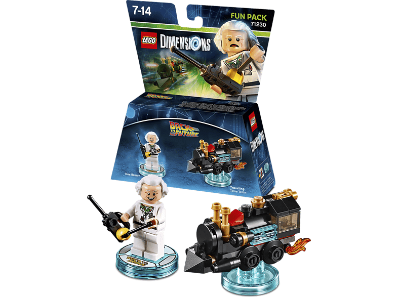 LEGO Dimensions Fun Pack - Back to the Future Doc Brown