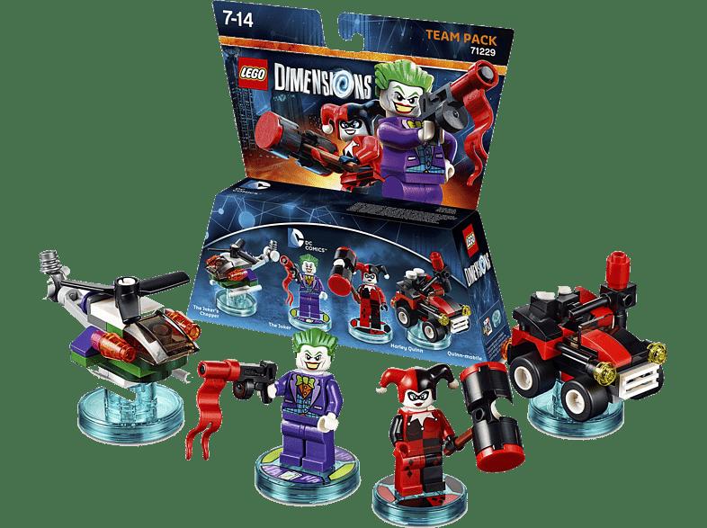 LEGO Dimensions Team Pack - DC Comics Joker & Harley