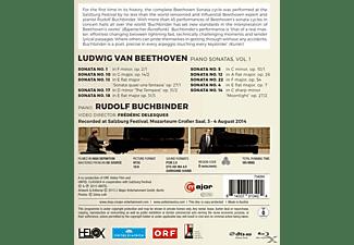 Rudolf Buchbinder - KLAVIERSONATEN VOL.1  - (Blu-ray)