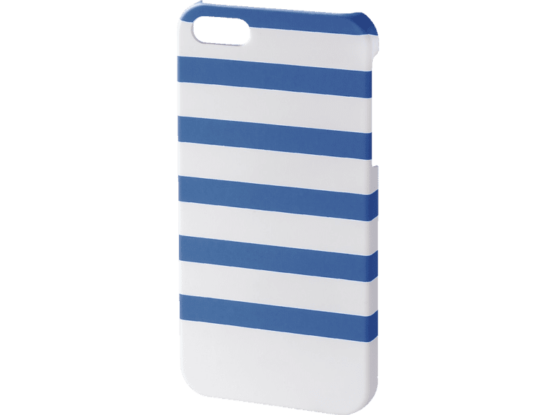 HAMA Stripes , Backcover, Apple, iPhone 5/5s, Kunststoff, Weiß