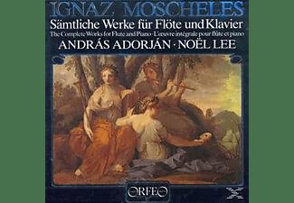 Lee Noel, Adorjan Andras - Sämtliche Werke Für Flöte Und Klavier (Ga)  - (Vinyl)