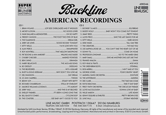 VARIOUS - Backline Vol.346  - (CD)