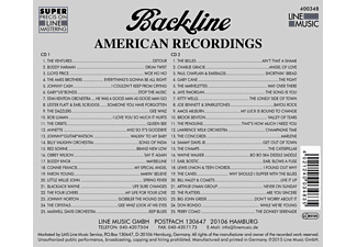 VARIOUS - Backline Vol.348  - (CD)