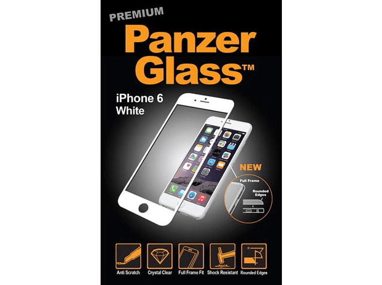 PANZERGLASS 3777 Schutzglas (Apple iPhone 6 Plus, iPhone 6s Plus)