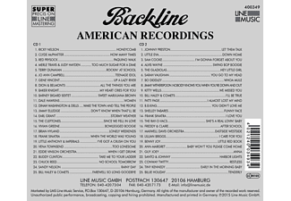 VARIOUS - Backline Vol.349  - (CD)
