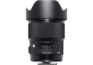SIGMA 412954 - 20 mm f/1.4 DG, HSM (Objektiv für Canon EF-Mount, Schwarz)