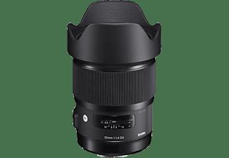 SIGMA 412955 - 20 mm f/1.4 DG, HSM (Objektiv für Nikon F-Mount, Schwarz)