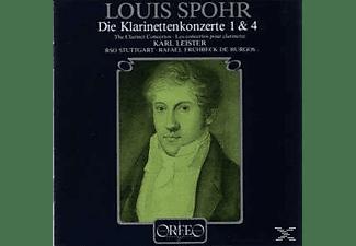 Karl Leister, Radio-Sinfonieorchester Stuttgart - Klarinettenkonzerte 1-4 Op.26/57/Woo 19/20  - (Vinyl)