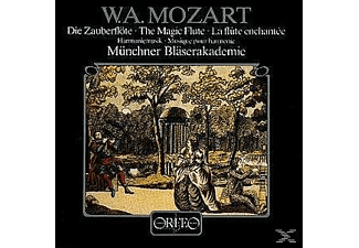 Münchner Bläserakademie - Die Zauberflöte-Harmoniemusik, Arr.J.Heidenreich  - (Vinyl)