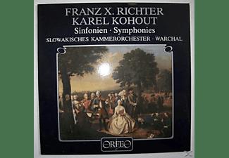 Slowakisches Kammerorchester - Sinfonien G-Dur/C-Dur/B-Dur/F-Moll  - (Vinyl)