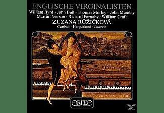Zuzana Ruzicková - Englische Virginalisten:La Volta/The Battle/Robin/  - (Vinyl)