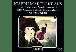 Sieghart, Peinemann, Stuttgarter Kammerorch - Sinfonie C-Moll/Violinkonzert C-Dur/Sinf.Funebre  - (Vinyl)