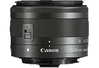 CANON EF-M 15-45mm f/3.5-6.3 IS STM - Obiettivo zoom (Nero)