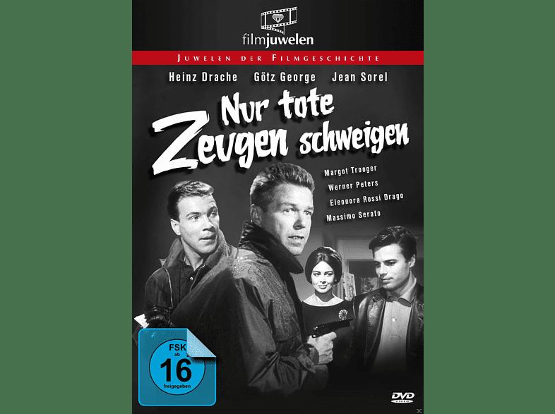 Nur tote Zeugen schweigen [DVD]
