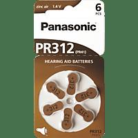 PANASONIC PR-312/PR-41 Knopfzelle, Braun