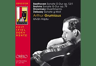 Arthur Grumiaux, István Hajdu - Sonaten Für Violine Und Klavier  - (CD)
