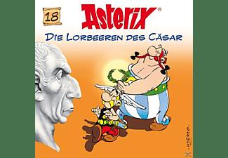 Asterix - 18: Die Lorbeeren Des Cäsar  - (CD)