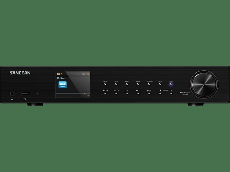 SANGEAN WFT 3 Internetradio (DAB+, UKW, Internet, Schwarz)