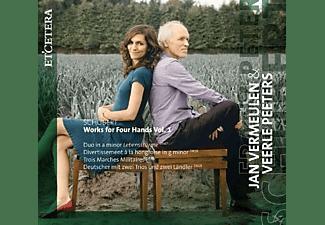 Jan Vermeulen, Veerle Peeters - Klaviermusik Zu Vier Händen  - (CD)