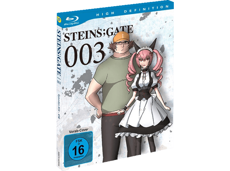 Steins Gate - Vol. 3 [Blu-ray]
