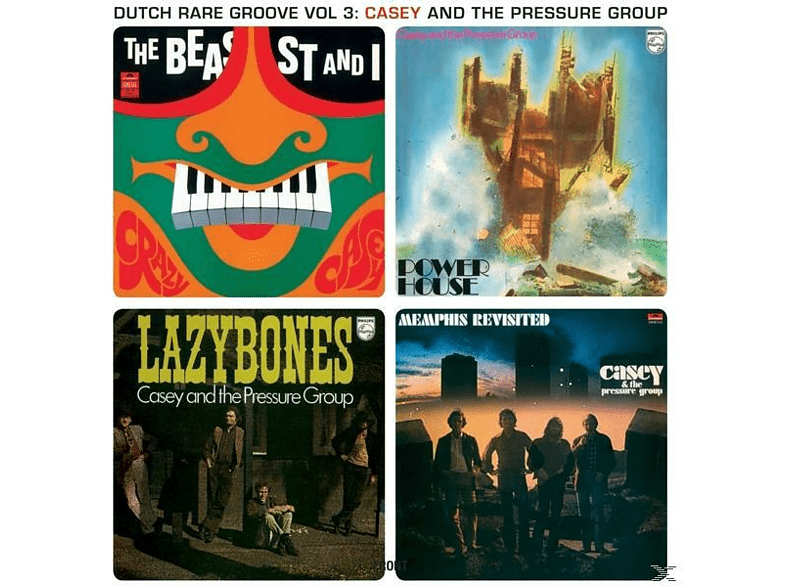Casey & The Pressure Grou - Dutch Rare Groove Vol.3 [LP + Download]