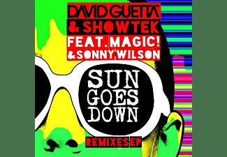 David Guetta & Showtek - Sun Goes Down (Remixes Ep)  - (Vinyl)